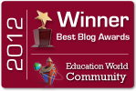 2012 Education Week Blog Award Winner